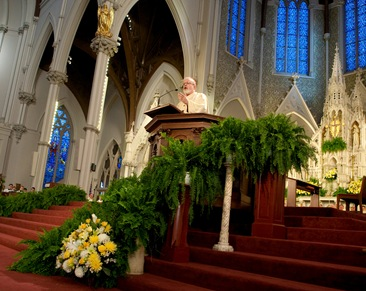 Cardinal Sean P. O'Malley delivers his homily at the Mass to close the bicentennial of the the Archdiocese of Boston, Nov. 23.<br /> Pilot photo/ Gregory L. Tracy