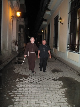 A delegation of three U.S. Catholic bishops, including Cardinal Seán P. O'Malley visits Cuba on behalf of the U.S. Conference of Catholic Bishops, August 17-21, 2009.