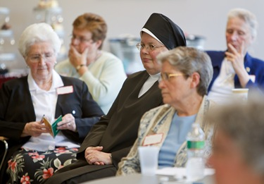 Cardinal Sean meets with Superiors of Women Religious at the Pastoral Center May 20, 2010. Photo by Gregory L. Tracy, The Pilot