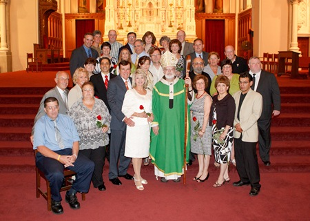 June 13, 2010 Wedding Anniversary Mass. Pilot photo by Gregory L. Tracy