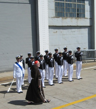 SanGiusto_Honor Guard at ship