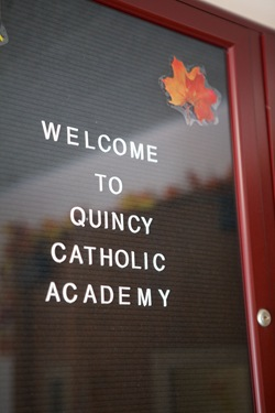 Cardinal Seán P. O'Malley celebrates the opening Mass of Quincy Catholic Academy at Sacred Heart Church Sept. 8, 2010. Following the Mass, Cardinal O'Malley was given a tour of the school's facilities by principal Catherine Cameron. Photo by Gregory L. Tracy/ The Pilot