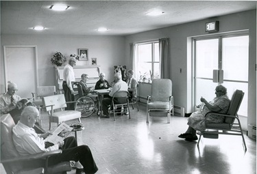 Pilot file photo of DYouville Manor dedication June 1, 1960.
