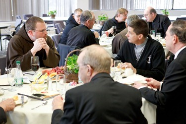 Meeting of Religious Superiors of Men, March 15, 2012. Photo by Gregory L. Tracy, The Pilot