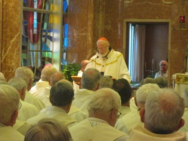 Jubiliarian Mass June 21, 2012. Courtesy photo