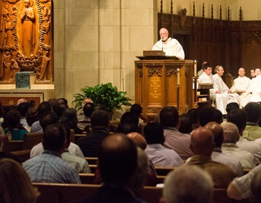 International Colloquium on Jesuit Secondary Education, July 31, 2012. Held on the campus of Boston College fom The July 29 to Aug. 2, it is the first such gathering of secondary education leaders from across the globe in the 450-year history of the Jesuits. Pilot photo/ Christopher S. Pineo