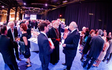 Celebration of the Priesthood dinner at the Seaport World Trade Center, Sept. 26, 2012. Pilot photo by Gregory L. Tracy