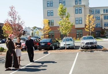 Dedication ceremony and ribbon cutting for the 135 Lafayette Street development in Salem, Mass. Sept. 27, 2014.  Photo by Gregory L. Tracy