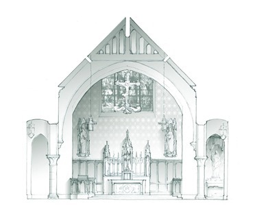 OLGV Section towards Altar-Crop
