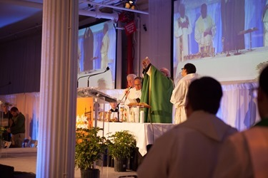 Holy Mass at New York Encounter 2015, celebrated by Sean Cardinal O'Malley, archbishop of Boston.