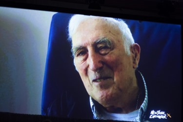 """Jean Vanier, Founder of L'Arche Communities via telecast at New York Encounter 2015, speaking on """"Identity and the Challenge of Disability."""""""