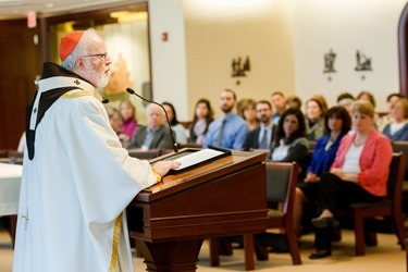Archdiocese of Boston Lenten Day of Reflection for staff, March 25, 2015. Pilot photo/ Gregory L. Tracy
