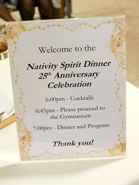 Nativity Spirit Dinner held at Boston College High School March 12, 2015 celebrating the 25th anniversary of Nativity Prep in Jamaica Plain.<br /><br /><br /><br /> Pilot photo/ Patrick E. O'Connor