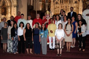 confirmation52015 sister Elisete Signor and all  cathequistas