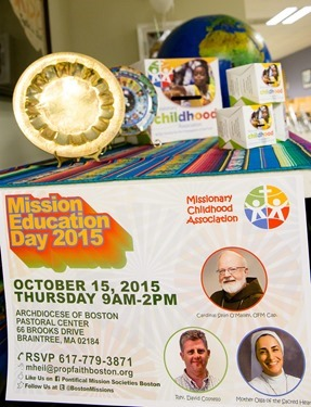 Mission Education Day 2015 held at the Pastoral Center Oct. 14, 2015. Pilot photo by Gregory L. Tracy