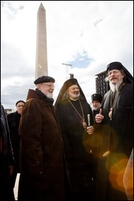 Cardinal Sean P. O'Malley participates in the 44th annual March for Life in Washington, D.C., Jan. 27, 2017. The cardinal has participated in every march since its inception in 1973. Pilot photo/ Gregory L. Tracy
