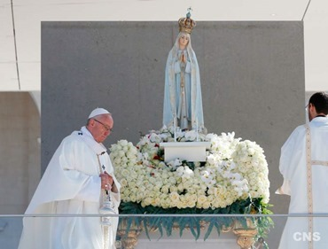 POPE-FATIMA-CANONIZATION