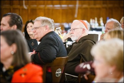 Boston Area Order of Malta annual Mass and Dinner, Oct. 21, 2017 at St. John's Seminary in Brighton. Pilot photo/ Gregory L. Tracy