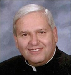 Father Richard Messina, former high school chaplain, retired pastor