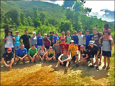 Hingham youth group lives out works of mercy in Haiti