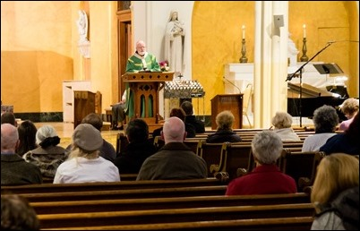Mass of Prayer and Penance for those affected by clergy sexual abuse, celebrated by Cardinal Sean P. O'Malley, Feb. 4, 2018 at St. Michael Church in Lowell. Pilot photo/ Mark Labbe