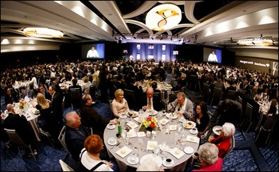 The 28th Annual Inner-City Scholarship Fund Gala held at the Copley Plaza Marriott, April 12, 2018. Pilot photo/ Gregory L. Tracy