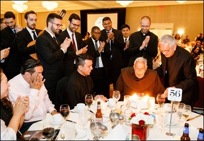 Redemptoris Mater Archdiocesan Missionary Seminary of Boston's annual Gala Dinner held at June 3, 2018. During the evening, the seminary honored Apostolic Nuncio to the United States Archbishop Christophe Pierre and Dr. Lucy Bayer-Zwirello, Chief of Maternal Fetal Medicine at St. Elizabeth's Medical Center. Pilot photo/ Gregory L. Tracy