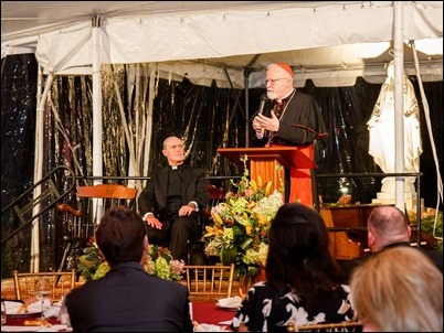 Pope St. John XXIII National Seminary Lawn Party, Sept. 26, 2018. Pilot photo/ Jacqueline Tetrault