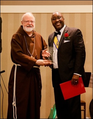 2018 Bishop Healy Award, Nov. 17, 2018. Pilot photo/ Jacqueline Tetrault