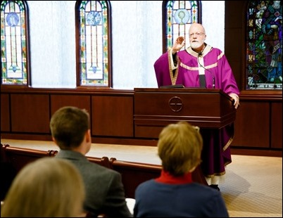 Archdiocese of Boston Pastoral Center Advent Gathering Mass, Dec. 21, 2018. Pilot photo/ Gregory L. Tracy