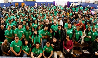 Archdiocesan Encuentro Juvenil for Hispanis Youth, Dec. 15, 2018. Pilot photo/ Jacqueline Tetrault