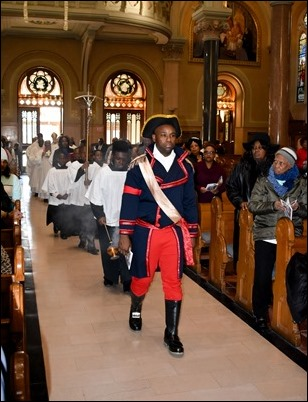 Haitian Independence Day Mass celebrated by Cardinal O'Malley at the Basilica of Our Lady of Perpetual Help (Mission Church) in Boston, Jan. 1, 2019. Photo by Patrick E. O'Connor