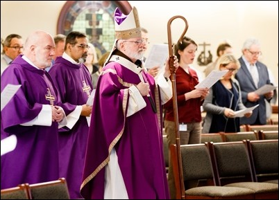 Archdiocese of Boston Lenten Morning of Prayer and Reflection, March 22, 2019. Pilot photo/ Gregory L. Tracy