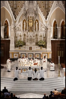 Archdiocese of Boston priesthood ordination May 22, 2021. Pilot photo/ Gregory L. Tracy