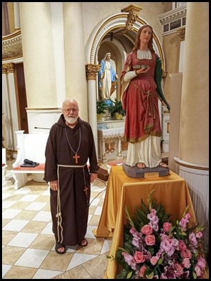 Cardinal O'Malley and St. Lucy